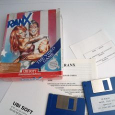Jeux Vidéo et Consoles: RANX THE VIDEO GAME - JUEGO AMIGA COMPLETO - UBI SOFT 1990 (AMIGA 500 1000 2000). Lote 199672736