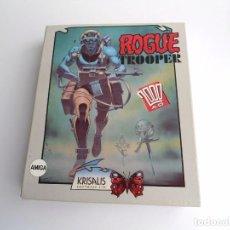 Videojuegos y Consolas: ROGUE TROOPER 200 AD - JUEGO AMIGA COMPLETO - KRISALIS 1990. Lote 199673106