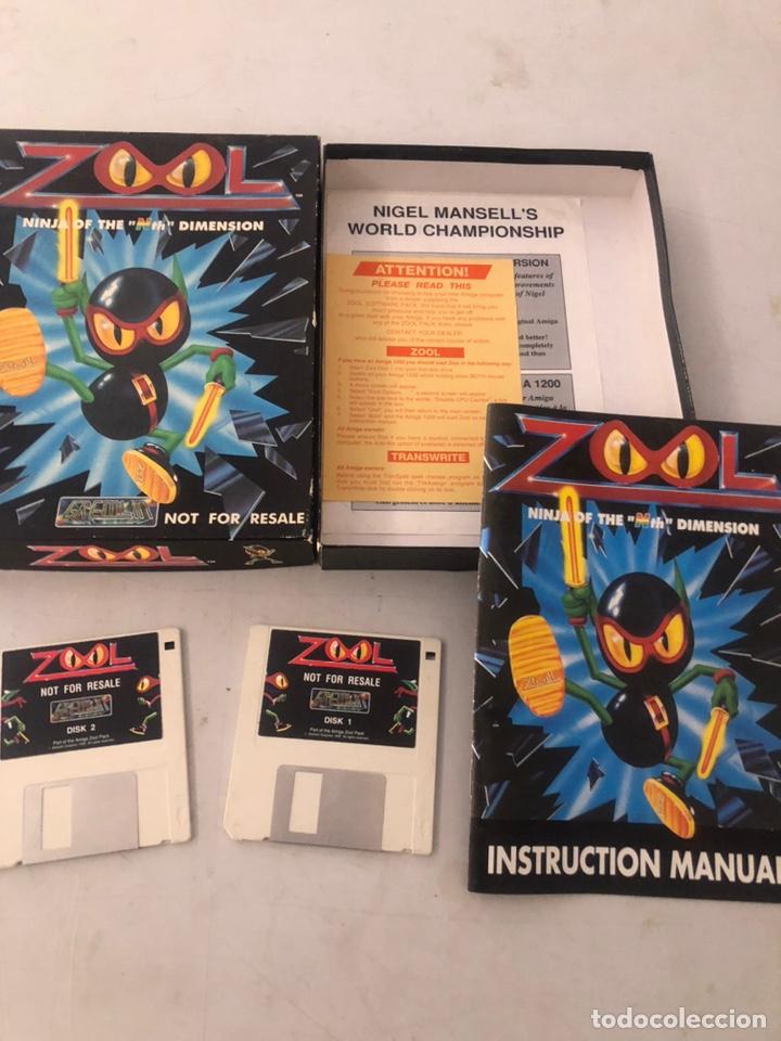 JUEGO ZOOL AMIGA (Juguetes - Videojuegos y Consolas - Amiga)