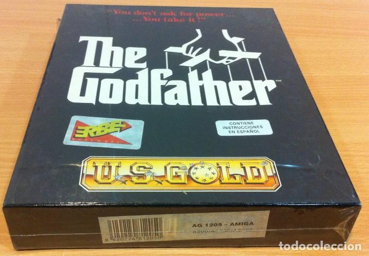 Videojuegos y Consolas: JUEGO PARA PC AMIGA DE US GOLD/ ERBE - THE GODFATHER - EL PADRINO (1991). EN CAJA CARTÓN PRECINTADA - Foto 2 - 143294470