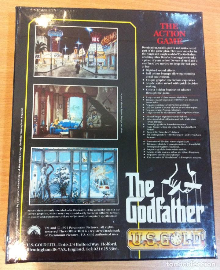 Videojuegos y Consolas: JUEGO PARA PC AMIGA DE US GOLD/ ERBE - THE GODFATHER - EL PADRINO (1991). EN CAJA CARTÓN PRECINTADA - Foto 6 - 143294470