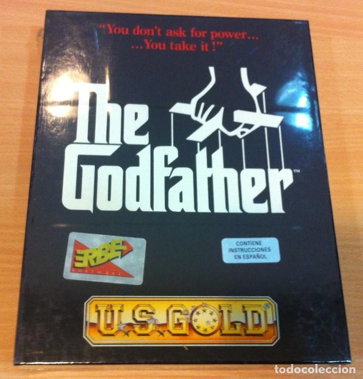 JUEGO PARA PC AMIGA DE US GOLD/ ERBE - THE GODFATHER - EL PADRINO (1991). EN CAJA CARTÓN PRECINTADA (Juguetes - Videojuegos y Consolas - Amiga)