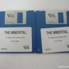 Videojuegos y Consolas: THE INMORTAL / COMMODORE AMIGA / RETRO VINTAGE / DISCO - DISKETTE - DISQUETE. Lote 208384681