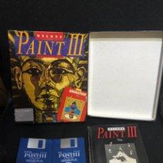 Videojuegos y Consolas: SOFTWARE COMMODORE AMIGA DELUXE PAINT 3. Lote 210278340