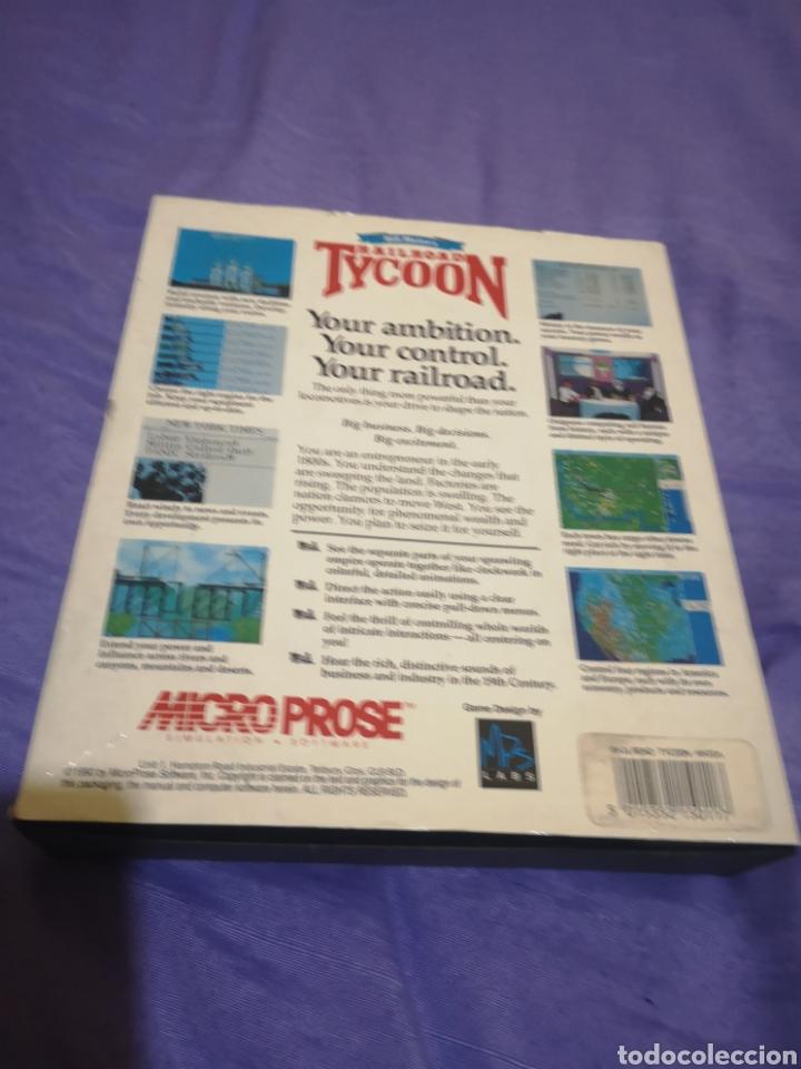 Videojuegos y Consolas: Lote pack 2 juegos Amiga Railroad Tycoon - Sensible Soccer - caja cartón - diskette - Foto 7 - 215342635