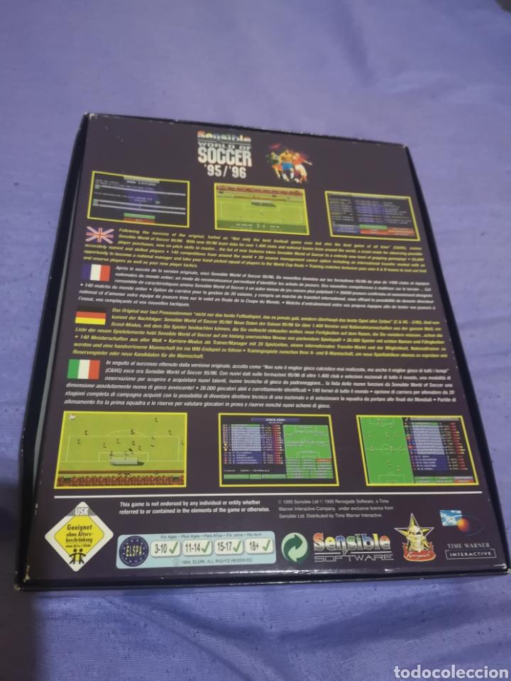 Videojuegos y Consolas: Lote pack 2 juegos Amiga Railroad Tycoon - Sensible Soccer - caja cartón - diskette - Foto 9 - 215342635