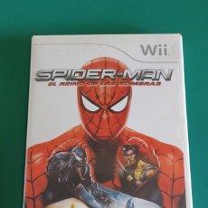 Jeux Vidéo et Consoles: JUEGO WII, SPIDER-MAN EL REINO DE LAS SOMBRAS(COMPLETO). Lote 218788151