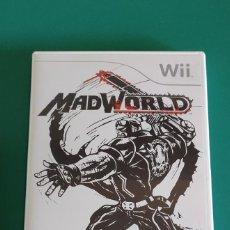 Jeux Vidéo et Consoles: JUEGO WII, MADWORLD (COMPLETO). Lote 218788220