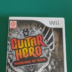 Videojuegos y Consolas: JUEGO WII, GUITAR HERO WARRIORS OF ROCK (COMPLETO). Lote 218788972