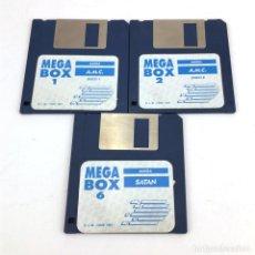 Videojuegos y Consolas: SATAN + AMC / DINAMIC SOFTWARE MEGA BOX. COMMODORE AMIGA DISKETTE ORDENADOR RETRO INFORMATICA A.M.C.. Lote 219031285
