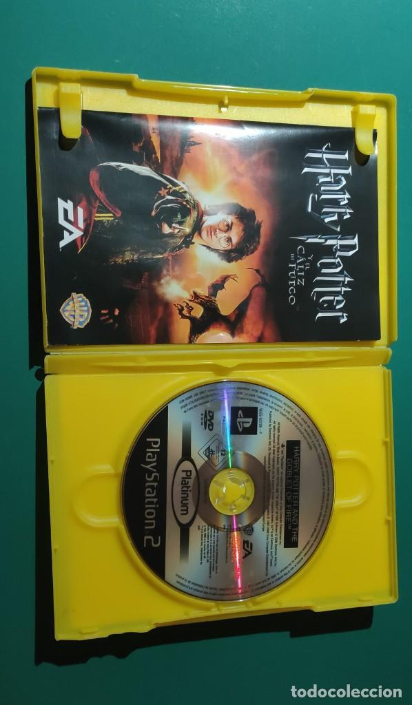 Videojuegos y Consolas: JUEGO PS2- HARRY POTTER y EL CÁLIZ DE FUEGO(COMPLETO) - Foto 2 - 219379852