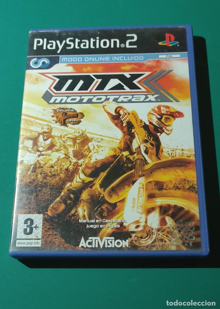 JUEGO PS2- MTX MOTOTRAX(COMPLETO) (Juguetes - Videojuegos y Consolas - Amiga)