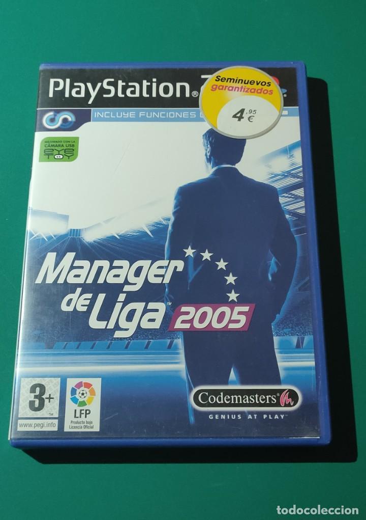 JUEGO PS2- MANAGER DE LIGA 2005(COMPLETO) (Juguetes - Videojuegos y Consolas - Amiga)