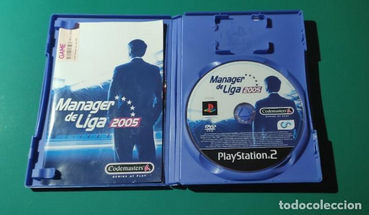 Videojuegos y Consolas: JUEGO PS2- MANAGER DE LIGA 2005(COMPLETO) - Foto 2 - 219380500