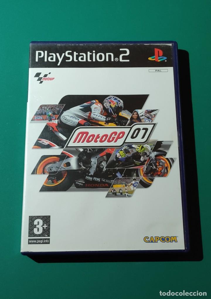 JUEGO PS2- MOTOGP 07(COMPLETO) (Juguetes - Videojuegos y Consolas - Amiga)