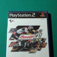 Videojuegos y Consolas: JUEGO PS2- MOTOGP 07(COMPLETO). Lote 219380791