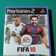 Videojuegos y Consolas: JUEGO PS2- FIFA 10(COMPLETO). Lote 219383040