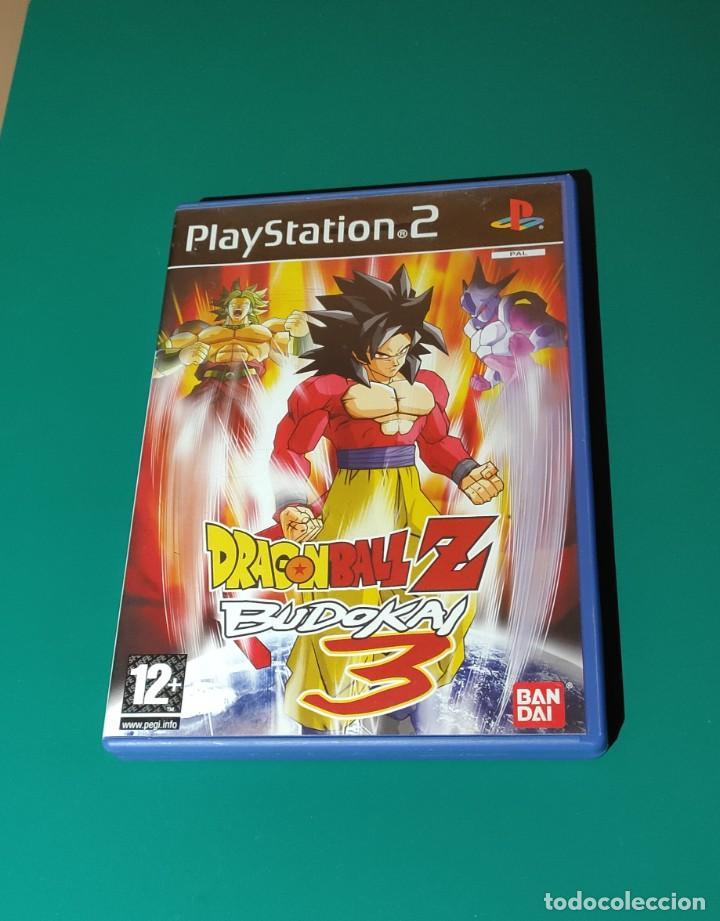 JUEGO PS2- DRAGON BALL Z BUDIKAI 3(COMPLETO) (Juguetes - Videojuegos y Consolas - Amiga)
