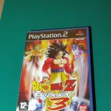 Videojuegos y Consolas: JUEGO PS2- DRAGON BALL Z BUDIKAI 3(COMPLETO). Lote 219383378