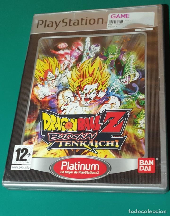 JUEGO PS2- DRAGON BALL Z BUDOKAI TENKAICHI(COMPLETO) (Juguetes - Videojuegos y Consolas - Amiga)