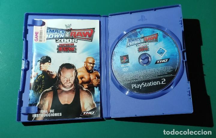 Videojuegos y Consolas: JUEGO PS2- SMACKDDOWN VS RAW,2008(COMPLETO) - Foto 2 - 219383717