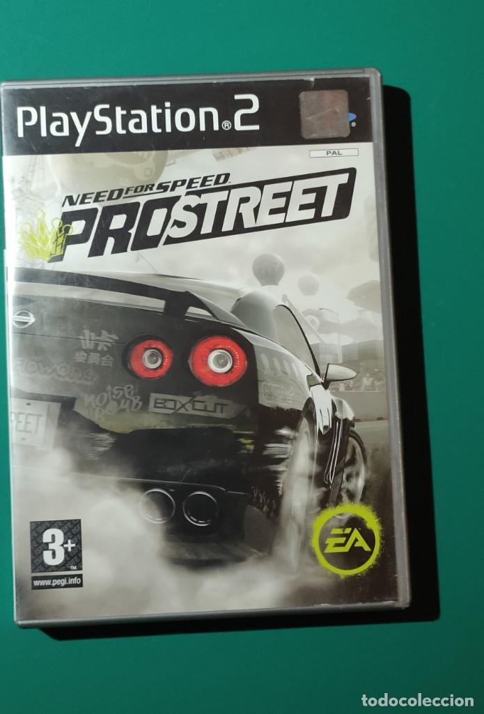 JUEGO PS2- NEED FOR SPEED PROSTREET(COMPLETO) LOS DOS DISCOS (Juguetes - Videojuegos y Consolas - Amiga)
