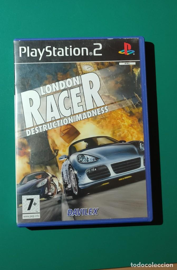 Videojuegos y Consolas: JUEGO PS2- LONDON RACER DESTRUCTION MADNESS (COMPLETO) - Foto 1 - 219384180
