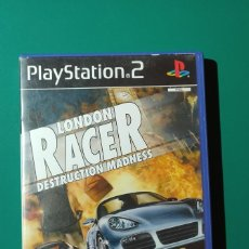 Videojuegos y Consolas: JUEGO PS2- LONDON RACER DESTRUCTION MADNESS (COMPLETO). Lote 219384180