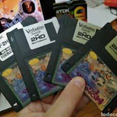 Jeux Vidéo et Consoles: JUEGOS COMMODORE AMIGA CON ETIQUETA PERSONALIZADA. Lote 225614335
