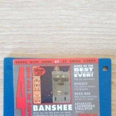 """Videojuegos y Consolas: BANSHEE-MONACO-SOKO BAN-DISKETTE 3,5""""-COMMODORE AMIGA-DEMO-AMIGA POWER ISSUE 37-AÑOS 90.. Lote 225740430"""