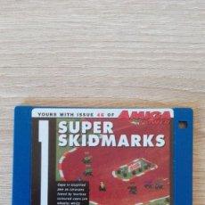 """Videojuegos y Consolas: SUPER SKIDMARKS-DISKETTE 3,5""""-COMMODORE AMIGA-DEMO-AMIGA POWER ISSUE 46-AÑOS 90.. Lote 225759882"""