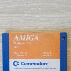 """Videojuegos y Consolas: WORKBENCH 1.3 SPAIN VERSION 1.3.2-DISKETTE 3,5""""-COMMODORE AMIGA-AÑO 1988.. Lote 225778488"""