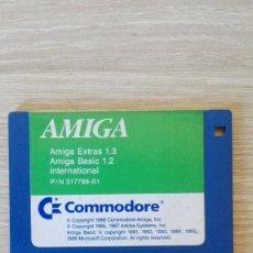"""Videojuegos y Consolas: AMIGA EXTRAS 1.3 AMIGA BASIC 1.2 INTERNATIONAL-DISKETTE 3,5""""-COMMODORE AMIGA-AÑO 1988.. Lote 225780190"""
