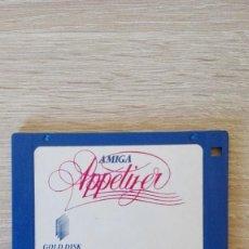 """Videojuegos y Consolas: APPETIZER-GOLD DISK INC.MADE IN CANADA-DISKETTE 3,5""""-COMMODORE AMIGA-AÑO 1989.. Lote 225783225"""