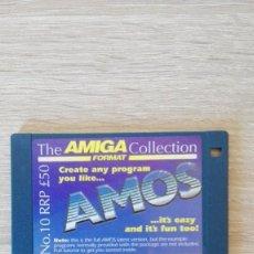 """Videojuegos y Consolas: AMOS BASIC ALL AMIGAS-1MB REQUIRED-DISKETTE 3,5""""-COMMODORE AMIGA-AÑO 1990.. Lote 225786420"""