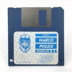 Videojuegos y Consolas: NARCO POLICE DISCO 1 DINAMIC SOFTWARE 1990 DISCO ANTIGUO VIDEOJUEGO VINTAGE COMMODORE AMIGA DISKETTE. Lote 227628215