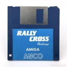 Videojuegos y Consolas: RALLY CROSS CHALLENGE ANCO CARRERAS COCHES AUTOMOVILISMO VIDEOJUEGO VINTAGE COMMODORE AMIGA DISKETTE. Lote 227628680