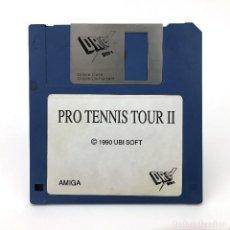 Videojuegos y Consolas: PRO TENIS TOUR II DRO SOFT UBI SOFT 1990 TENNIS ANTIGUO VIDEOJUEGO VINTAGE COMMODORE AMIGA DISKETTE. Lote 227628780