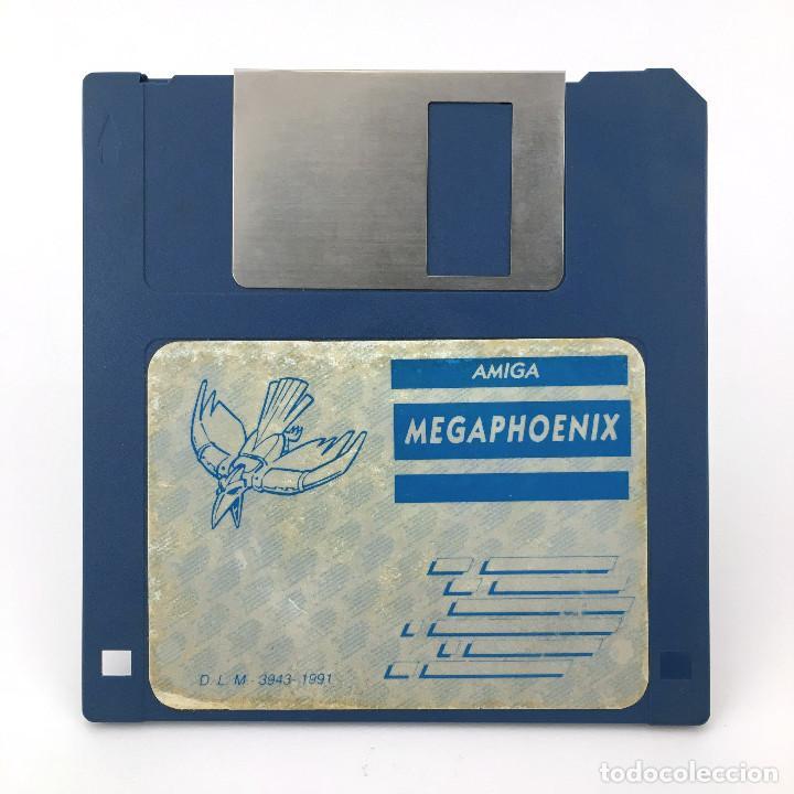 MEGAPHOENIX DINAMIC SOFTWARE 1991 - SNATCHO SHOOT 'EM UP VIDEOJUEGO VINTAGE COMMODORE AMIGA DISKETTE (Juguetes - Videojuegos y Consolas - Amiga)