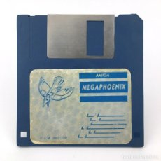 Videojuegos y Consolas: MEGAPHOENIX DINAMIC SOFTWARE 1991 - SNATCHO SHOOT 'EM UP VIDEOJUEGO VINTAGE COMMODORE AMIGA DISKETTE. Lote 227628910