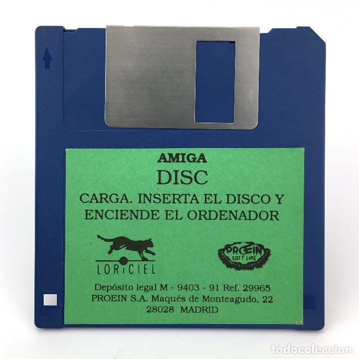 DISC PROEIN SOFT LINE / LORICIEL 1990 VIDEO GAME ANTIGUO VIDEOJUEGO VINTAGE COMMODORE AMIGA DISKETTE (Juguetes - Videojuegos y Consolas - Amiga)