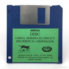 Videojuegos y Consolas: DISC PROEIN SOFT LINE / LORICIEL 1990 VIDEO GAME ANTIGUO VIDEOJUEGO VINTAGE COMMODORE AMIGA DISKETTE. Lote 227629206
