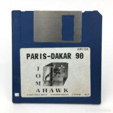 Videojuegos y Consolas: PARIS DAKAR 90 TOMAHAWK COKTEL VISION 1990 JUEGO ANTIGUO VIDEOJUEGO VINTAGE COMMODORE AMIGA DISKETTE. Lote 227648745