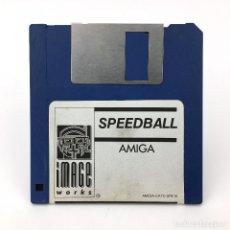 Videojuegos y Consolas: SPEEDBALL IMAGE WORKS 1990 CYBERPUNK SPORT JUEGO ANTIGUO VIDEOJUEGO VINTAGE COMMODORE AMIGA DISKETTE. Lote 227648760