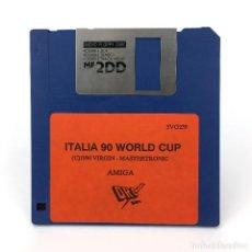 Videojuegos y Consolas: ITALIA 90 WORLD CUP DRO SOFT VIRGIN MASTERTRONIC 1990 FUTBOL SOCCER VINTAGE COMMODORE AMIGA DISKETTE. Lote 227648775