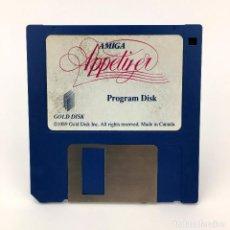 Videojuegos y Consolas: APPETIZER PROGRAM DISK GOLD DISK 1989 DISCO SOFTWARE ANTIGUO RAREZA VINTAGE COMMODORE AMIGA DISKETTE. Lote 227648790