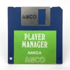Videojuegos y Consolas: PLAYER MANAGER ANCO SOFTWARE FUTBOL SOCCER VIEJO VIDEOJUEGO CLASICO VINTAGE COMMODORE AMIGA DISKETTE. Lote 227648955