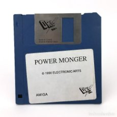 Videojuegos y Consolas: POWER MONGER DRO SOFT ELECTRONIC ARTS 1990 VIDEOJUEGO POWERMONGER POPULOUS COMMODORE AMIGA DISKETTE. Lote 227648965