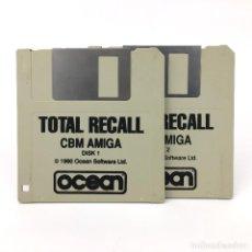 Videojuegos y Consolas: TOTAL RECALL OCEAN SOFTWARE 1990 DESAFIO SCHWARZENEGGER ANTIGUO VIDEOJUEGO COMMODORE AMIGA DISKETTE. Lote 227648972