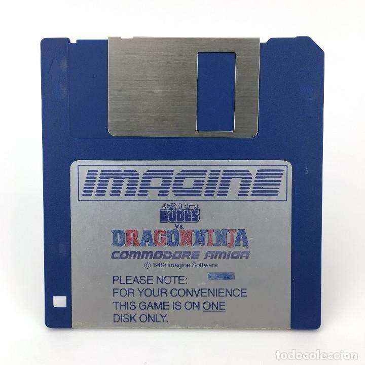 BAD DUDES VS. DRAGONNINJA IMAGINE SOFTWARE 1989 VIDEOJUEGO LUCHA CALLEJERA COMMODORE AMIGA DISKETTE (Juguetes - Videojuegos y Consolas - Amiga)